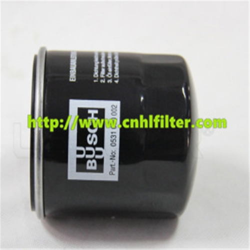 BUSCH Oil Filter for Vacuum Pump 0531000002