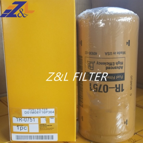 Generator Diesel Engine Fuel Oil Filter 1r-0751 1R-1740 for CAT Auto Oil Filter 1r 0751
