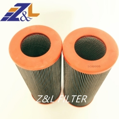 Replacement Hydraulic Filter Element 306605 01.NR1000.10VG.10.B.P 01.NR 1000.10VG.10.B.P