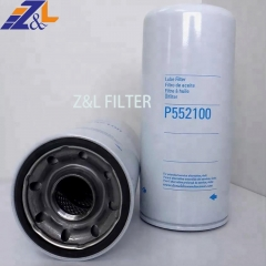 Z&L Filter supplies Diesel Tractor Front Loader Engine Parts Lube Full-Flow Spin-On Oil Filter P552100